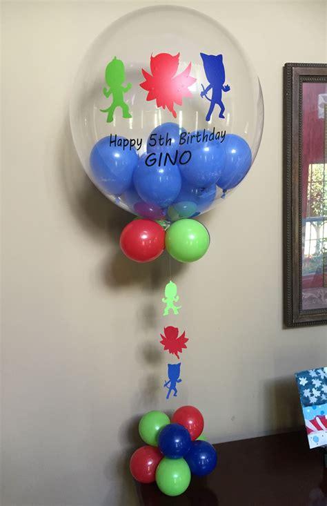 Pj Masks Personalized Balloon Balloonatics Llc