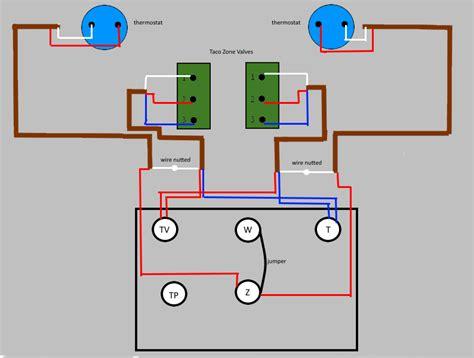 Wiring Honeywell Taco Zone Valves Ecobee