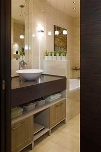 amenagement salle de bains sans fenetres 30 idees supers With petite salle de bain sans fenetre