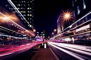 city, lights, night, road, street, traffic light - image ...