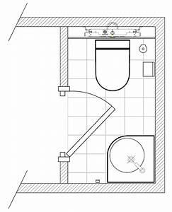Plan De Toilette Ikea : exemple de plans de salles de bain pour am nagement des wc ~ Dailycaller-alerts.com Idées de Décoration