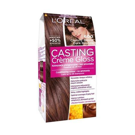 Allows for visible highlights, provides. L'Oréal Paris Casting Crème Gloss Hair-dye 600 dark blond ...