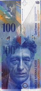 100 Swiss franc note