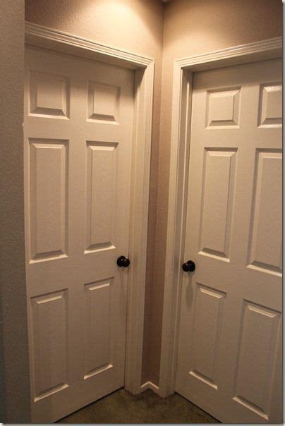Door Knobs On White Doors by Brass To Bronze Decor I Like White Interior Doors