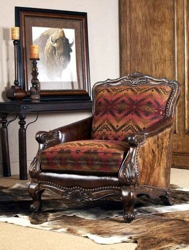 Cowhide Home Decor by Beautiful Cowhide Chair From Hill Country Interiors