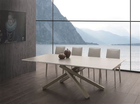 tavoli di cristallo sala da pranzo tavolo infinity allungabile 657 tavoli cristallo