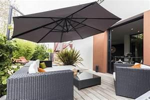 Meuble De Balcon : le parasol de balcon en 50 variantes ~ Premium-room.com Idées de Décoration