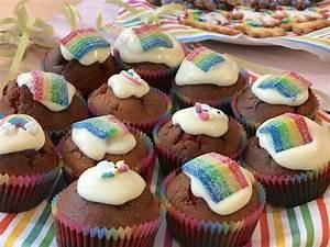 Einhorn Kuchen Deko : regenbogen muffins rezepte suchen ~ Eleganceandgraceweddings.com Haus und Dekorationen