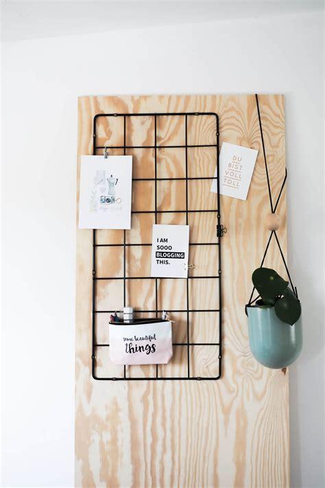 diy wand organizer memoboard handmade kultur