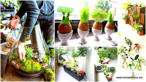 25 smart miniaturized indoor garden projects that you