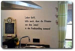Sprüche Für Die Küche : wandtattos jeden raum individuell gestalten ~ Watch28wear.com Haus und Dekorationen