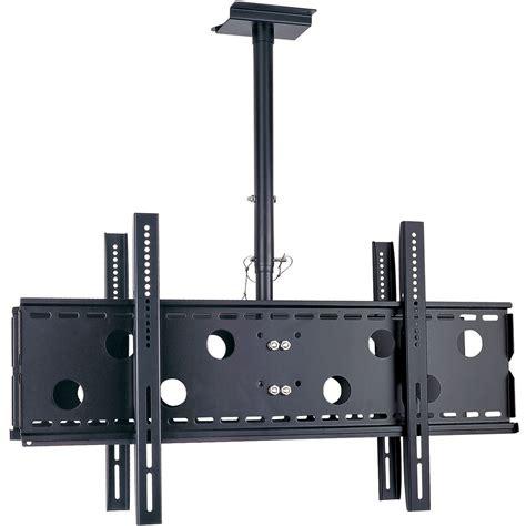 Dayton Audio Lcdcm60d Dual Tv Ceiling Mount With Tilt 32 60