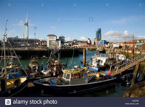 Old Boat At Portsmouth by Fishing Boat Trawlers The Camber Old Portsmouth Hshire
