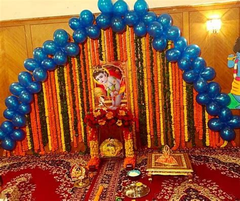 decoration ideas  krishna janmashtami janamshatmi