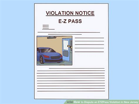 ez pass dispute letter template how to dispute an e zpass in new jersey 7 steps
