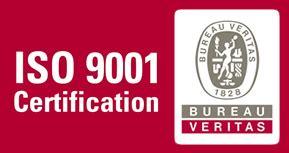 logo iso 9001 bureau veritas compañía eléctrica ltda calidad y certificaciones