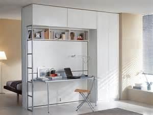 Lit Armoire Escamotable Rabattable Avec Bureau by Armoire Lit Superposes Escamotable Avec Bureau Pliable