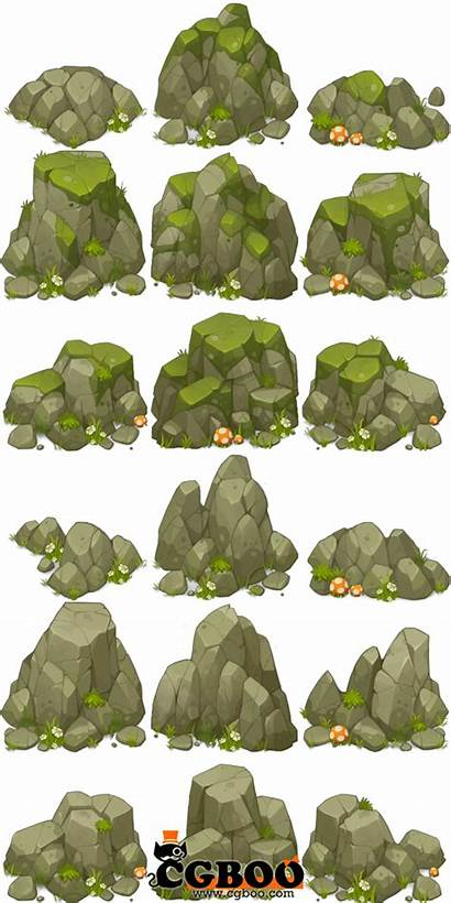 Rock Clipart Cliff Beach Concept Drawing Study