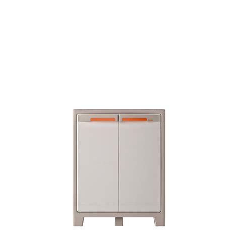 armoire de cuisine leroy merlin armoire résine basse 2 tablettes spaceo premium l80xh100xp44cm leroy merlin