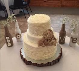 rustic wedding cake cakecentral - Vanilla Wedding Cake Recipe