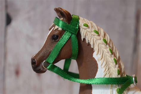 tack horse schleich handmade