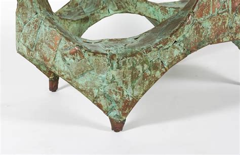 hammered copper table ls on sale paul evans hand hammered and patinated copper studio