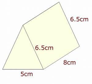 Surface Area Of Triangular Prism Worksheet Triangular prism