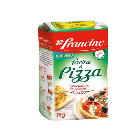 pate a pizza pour 500g de farine les farines francine farine 224 pizza francine
