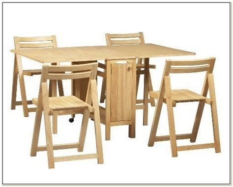 table with chairs that store inside folding table with chair storage inside chairs home