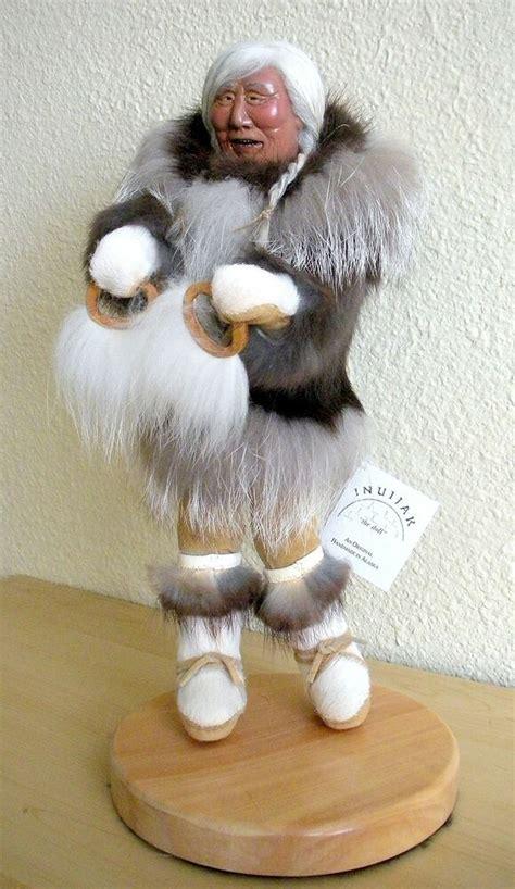 authentic eskimo inuijak handmade native alaskan signed