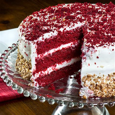 red velvet cake  savannahs candy kitchen  goldbely