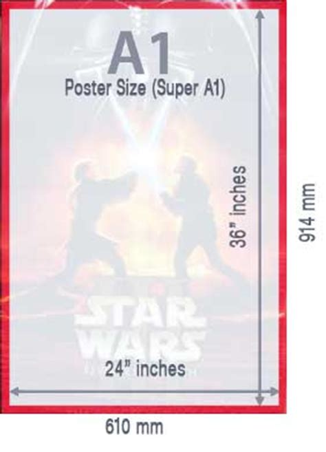 poster size standard paper poster sizes  dimensions