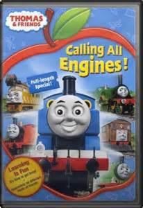 Thomas Calling All Engines DVD