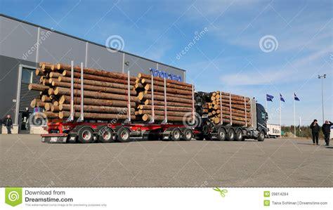 volvo truck range fh16 750 8x4 woodpro timber hauler editorial stock image