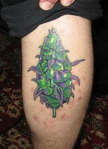 Tattoo Designs | Tattoo Ideas: Weed Tattoos - Tattooing