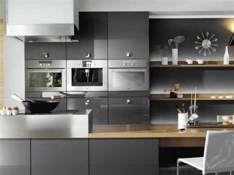 deco cuisine gris et noir idee deco cuisine grise kirafes