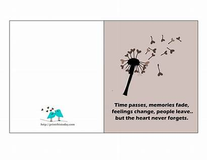 Quotes Card Cards Printable Quote Thoughtful Quotation