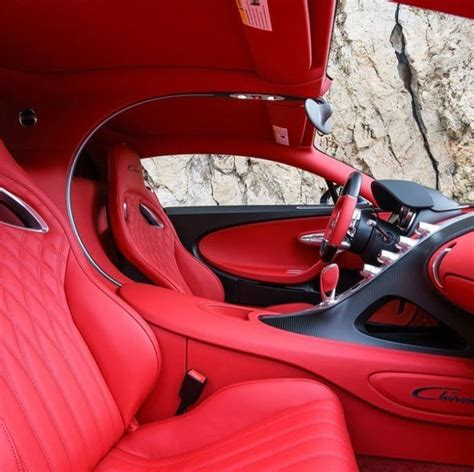 Bugatti is releasing a new car with four doors.its suppost to be the fastest four door car ever made Can you appreciate the Italian red interior of this ...
