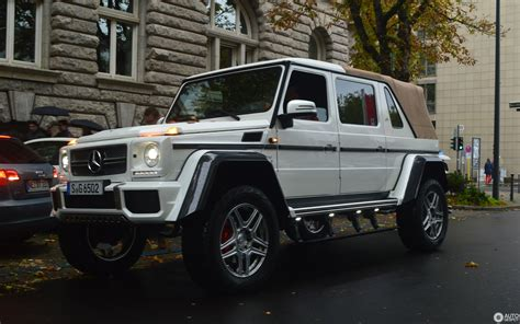 Gallery of 59 high resolution images and press release information. Mercedes-Maybach G 650 Landaulet W463 - 4 July 2018 ...