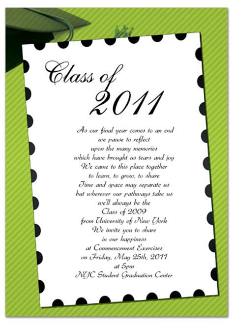free graduation invitation templates for word free graduation invitation announcement green white word template gi 1047