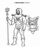 Skeletor He Cut Paper Dolls Coloring Drawing Outs Pages Late Mostly Mostlypaperdolls Printable Boy sketch template