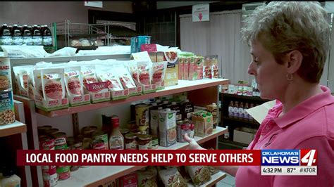 Pantry Food Delivery by Oklahoma Nonprofit Trying To Raise Money To Continue Food