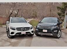 Land Rover Discovery Sport vs MercedesBenz GLC 300
