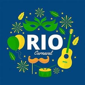 Free Rio Carnaval Vector Illustration - Download Free ...