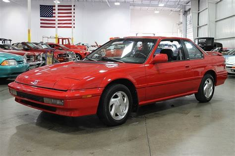 Red 1991 Honda Prelude For Sale