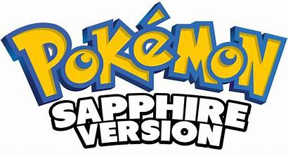 Sapphire Version Pokemon Games Logos Pokemon App