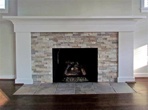 Stone Tiles Fireplace Surrounds