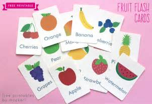 free printable fruit flash cards and matching cards