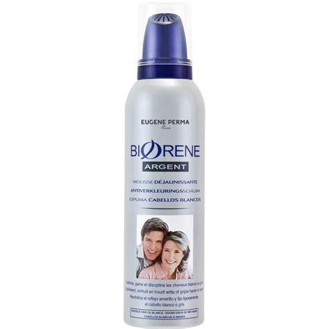 soin cheveux sans rincage dejaunissant biorene