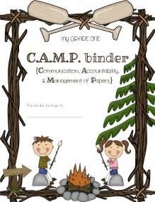 Summer Camp Clip Art Borders